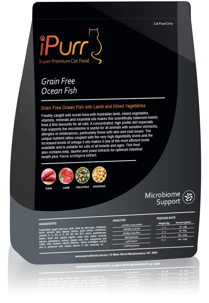 iPurr Grain Free Ocean Fish
