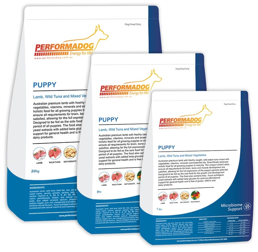 Performadog Puppy food